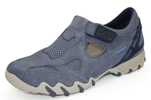 Mephisto Allrounder Nana Damen Sneaker/Halbschuhe Wechselfußbett blau