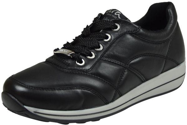 Ara Osaka-Highsoft Damen Schnürschuhe schwarz