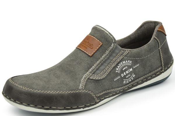 Rieker Antistress B9252-42 Herren Sneaker/Slipper, grau
