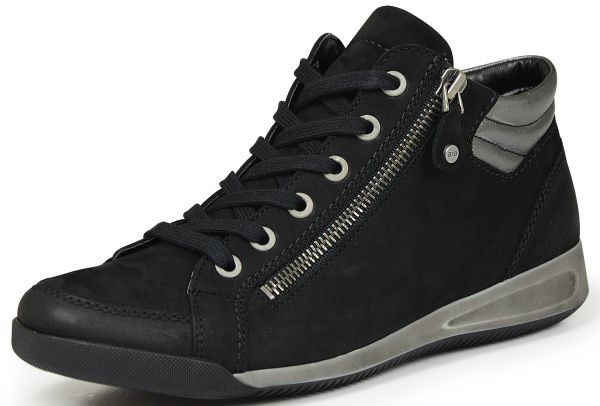 Ara Rom 12-44410-05 Damen high top Sneaker schwarz