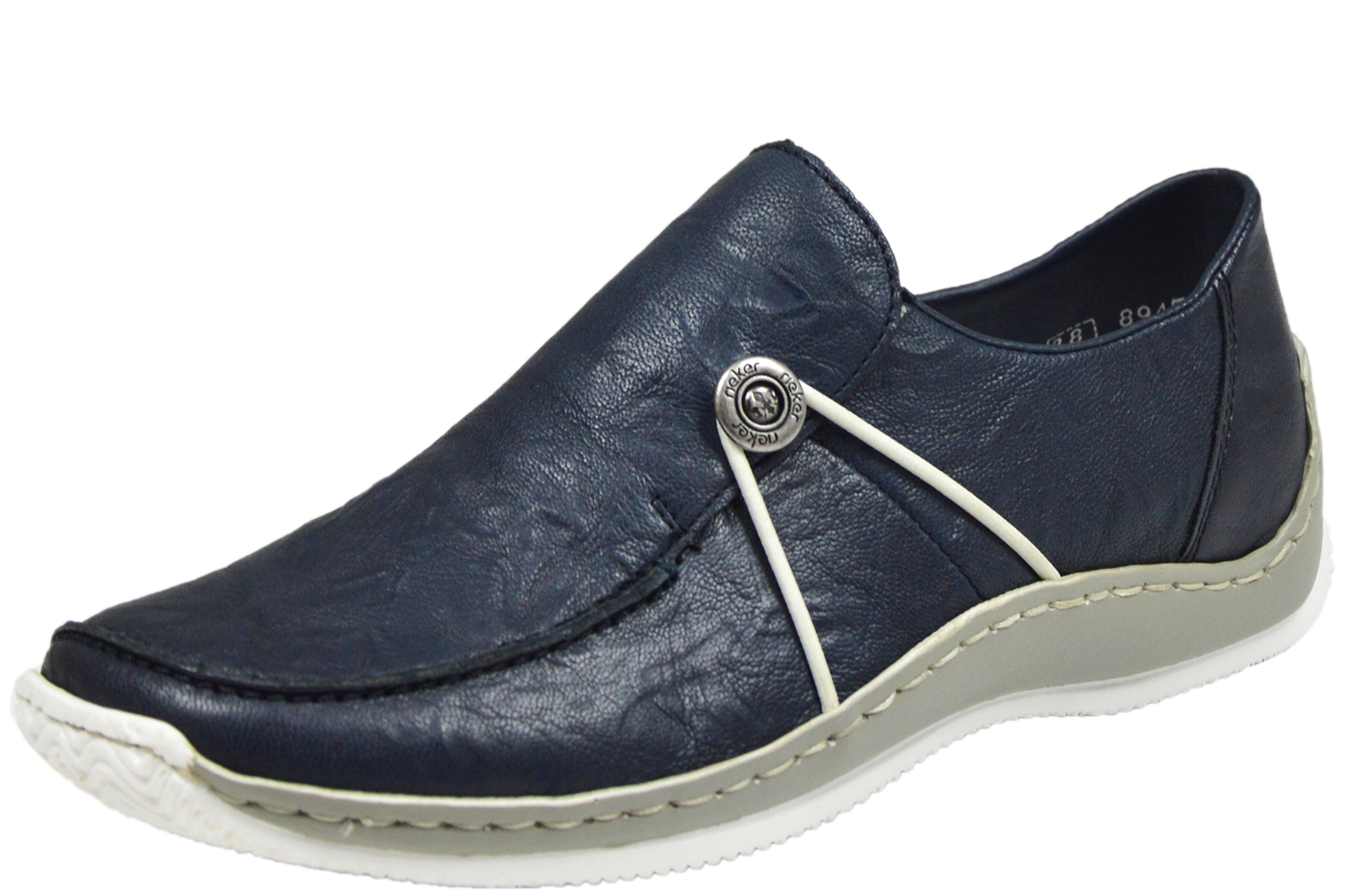 Rieker L1781 17 ANTISTRESS Damen Slipper blau