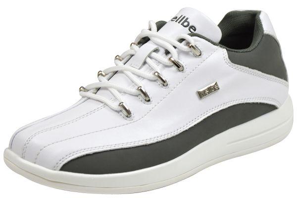 Wellbe Dallas unisex Sneaker weiß grau