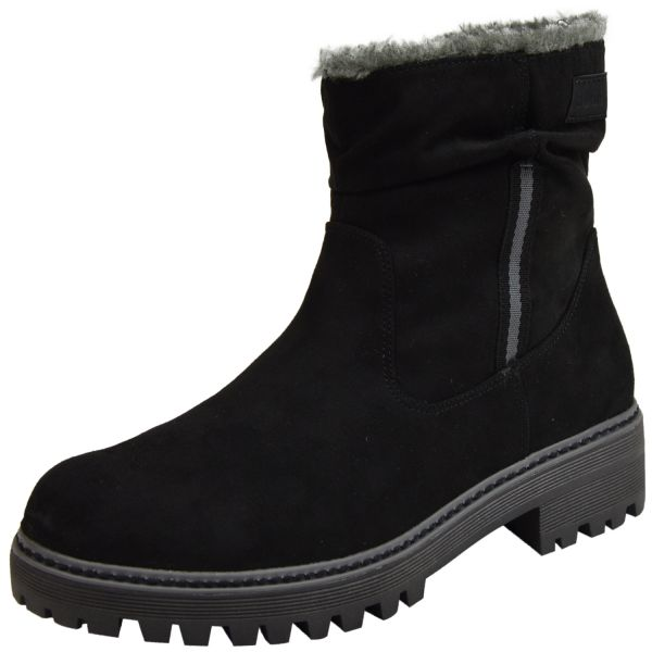 s.Oliver 5-26475-23 Damen Soft Foam Halbschaft - Stiefel schwarz