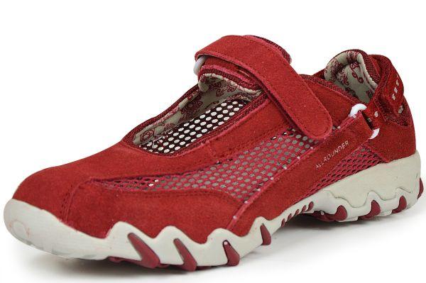 Mephisto Allrounder Niro Damen Sneaker, Halbschuhe, Wechselfußbett rot