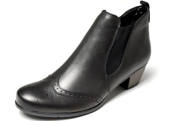 Remonte R9187-01 Damen Chelsea Boots schwarz