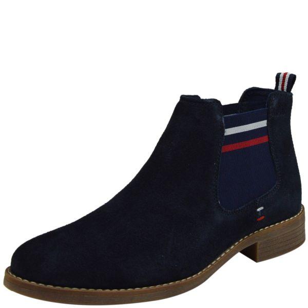 s.Oliver 5-25335-34 Soft Foam Damen Chelsea Boots blau ( navy )