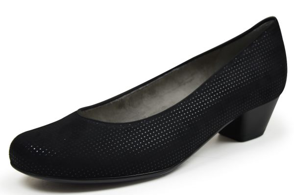 Jenny by ara Catania Damen Pumps Weite H, schwarz
