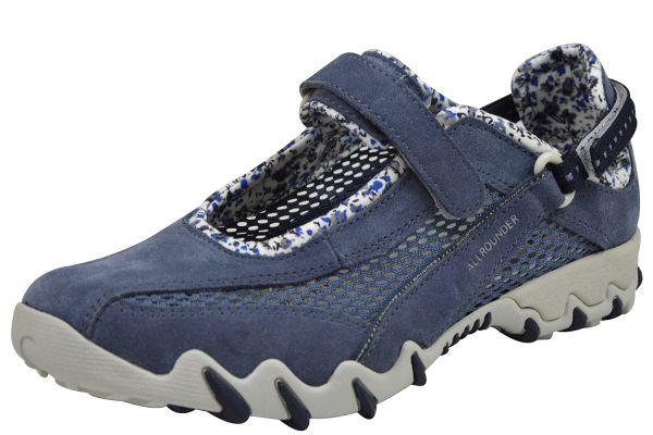 Allrounder by Mephisto Niro Damen Sneaker, Halbschuhe blau (teal/teal )
