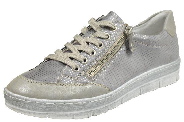 Rieker N5821 Damen Sneaker grau