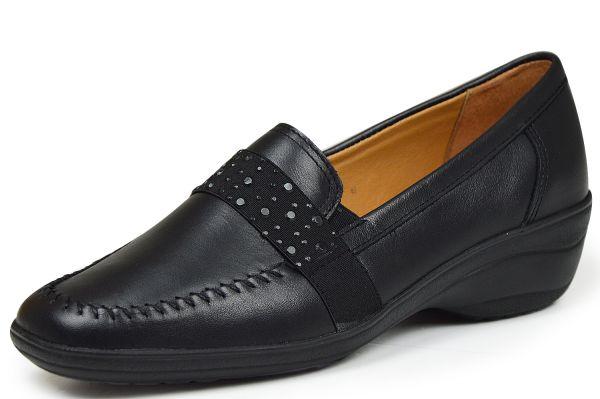 Longo 7520 Damen Slipper schwarz