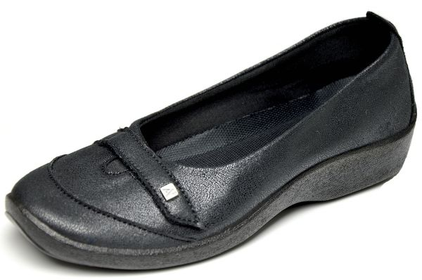 Arcopedico - nichts kann drücken- 4711 LORENA Damen Ballerina Diabetiker geeignet schwarz