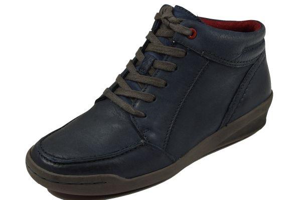 Jana 8-25206-23 Damen Sneaker Wechselfußbett navy (blau)