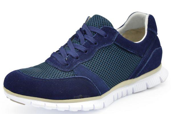 Grünwald F611-7 Damen Sneaker Wechselfußbett blau (ocean)