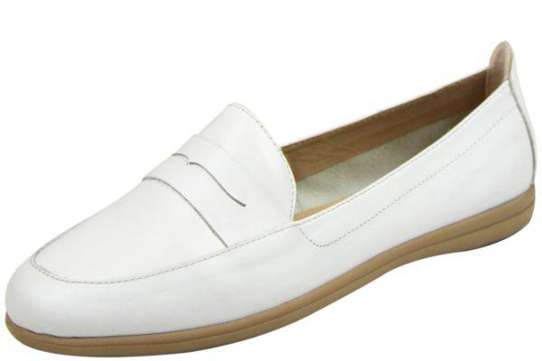 Jana 8-24600-24 Soft Flex Damen Loafer weiß