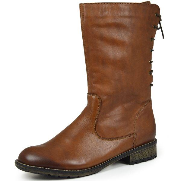 Remonte R3353-24 Damen Stiefel Wechselfußbett braun