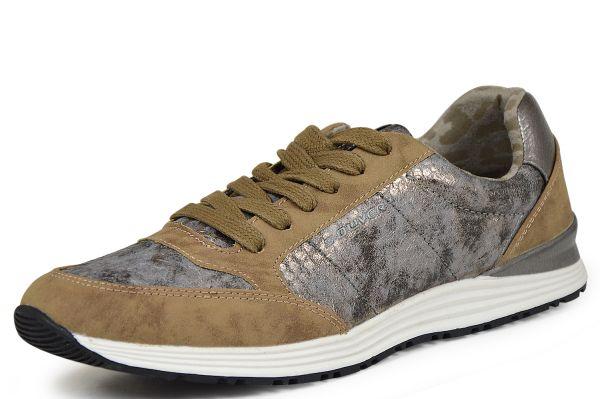 s.Oliver soft foam 5-23607-25 Damen Sneaker pepper
