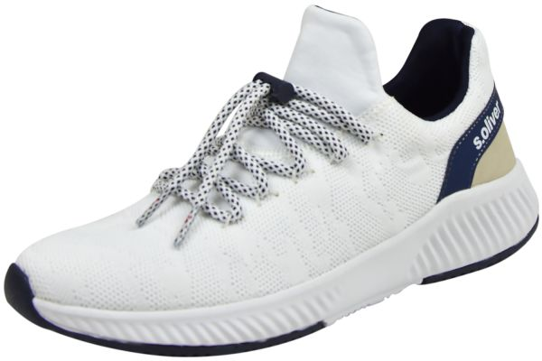 s.Oliver 5-23600-34 Soft Foam Damen Sneaker weiß / navy