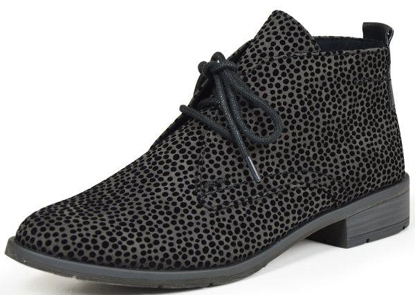 Marco Tozzi 2-25101-37 Damen Desert Boots grau
