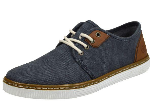 Rieker B4932-14 Herren Sneaker blau