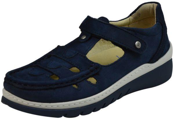 Wolky 0485411 Byte Damen Halbschuhe denim (blau)