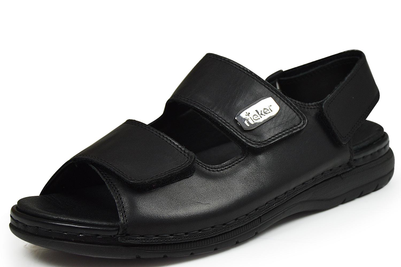 rieker antistress 25550 00 herren sandalen klettverschlu schwarz schuhpyramide. Black Bedroom Furniture Sets. Home Design Ideas