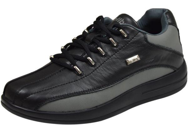 Wellbe Dallas Herren Sneaker schwarz/ grau