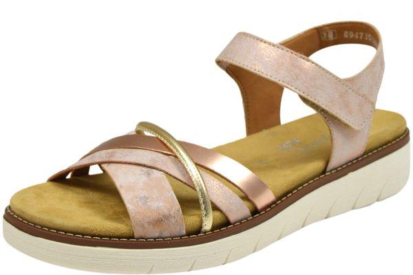 Remonte D2058-31 Lite`n Soft Damen Sandalen Wechselfußbett rosa