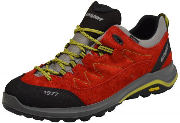 Grisport 14303A4t Herren Outdoor- und Trekking Schuhe Vibram Sohle rot/ schwarz