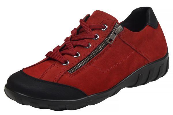 Grünwald P-9812 Damen Sneaker Wechselfußbett rot