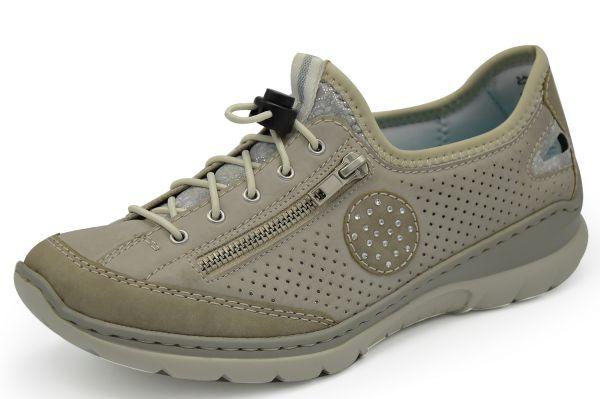 Rieker L3266-40 Damen Sneaker MemoSoft grau