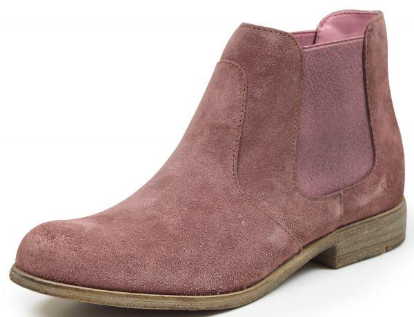 s.Oliver 25340 Damen Chelsea Boots mauve ( altrose`)