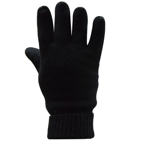 by Riese 62102 unisex Handschuhe mit Wolle und Isolation schwarz