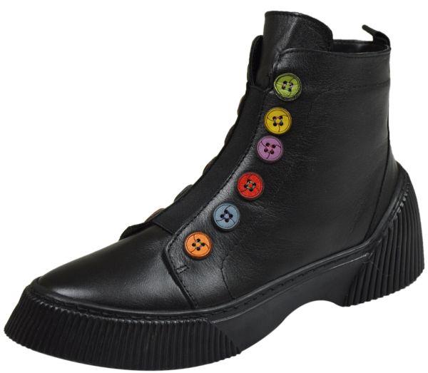 Gemini 33100-02 Damen Boots schwarz