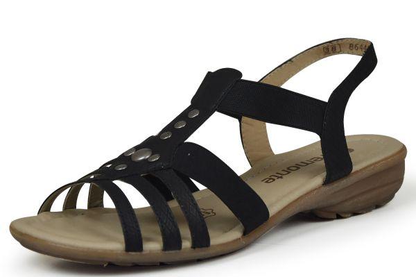 Remonte R3604-00 Damen Sandalen schwarz
