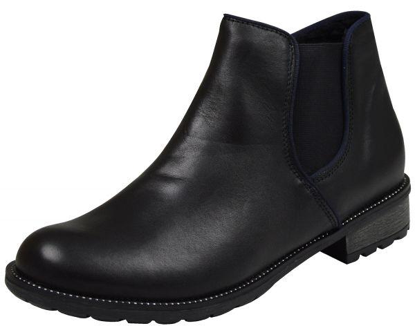 Remonte R3315 Damen Chelsea Boots schwarz