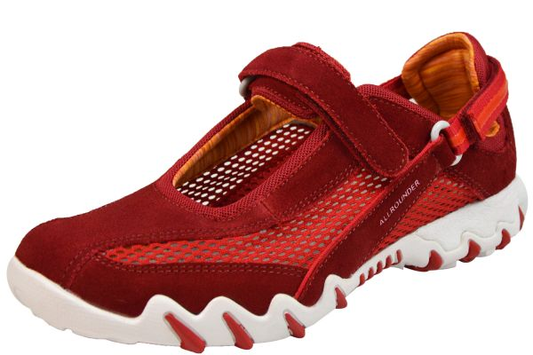Allrounder by Mephisto Niro Damen Sneaker, Halbschuhe Barbados Cherry ( Rot )