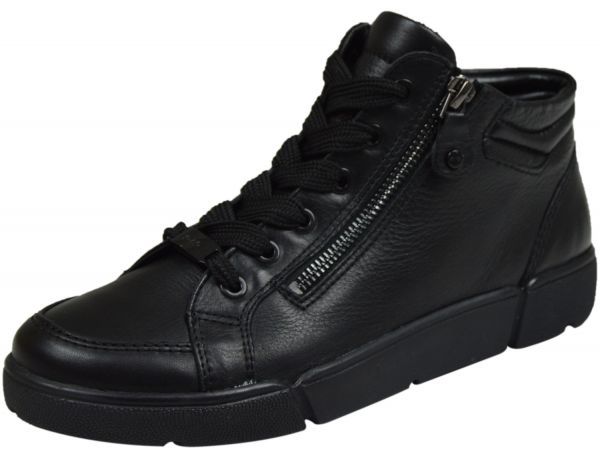 Ara Rom-Sport-St High-Soft Damen High Top Sneaker schwarz