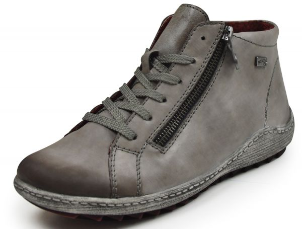 Remonte R1470 Damen High Top Sneaker Tex- Membrane grau/grey