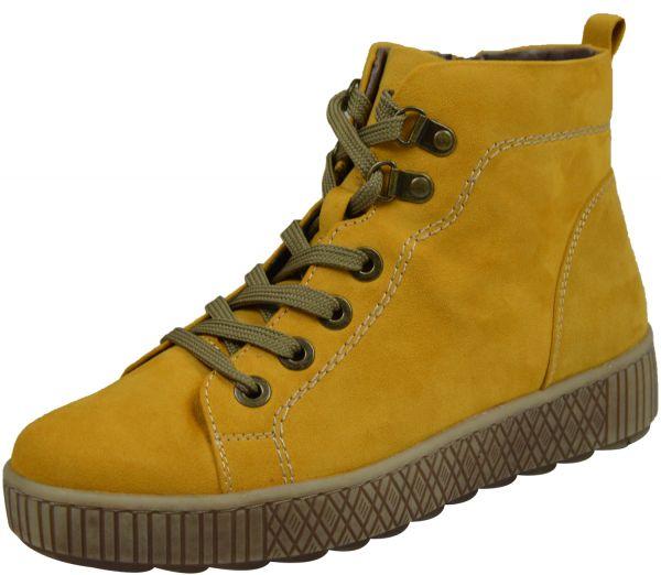 Jana 8-25260-25 Damen Boots Weite H gelb (saffron)