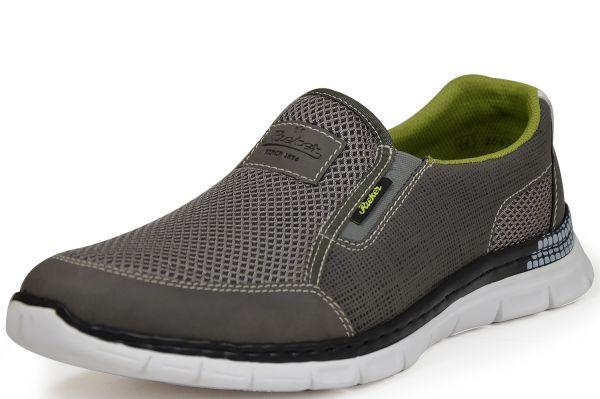 Rieker Antistress B4870-44 Herren Sneaker/Slipper, Memosoft, grau
