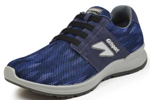Grisport 42835B2 Herren Sneaker Ergo Flex, Wechselfußbett, blau