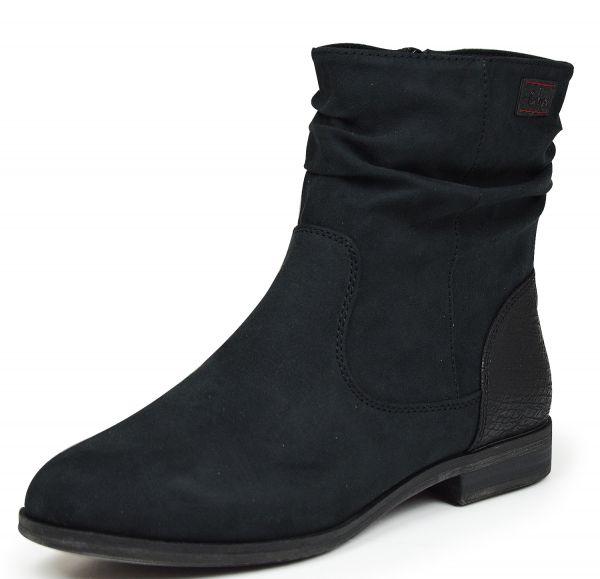 s.Oliver 5-25357-27 Damen Kurzschaft Stiefel schwarz