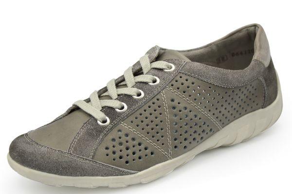 Remonte R3402-10 Damen Sneaker Wechselfußbett grau kombi