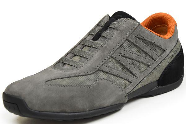 Camel active Space Herren Sneaker grau / schwarz