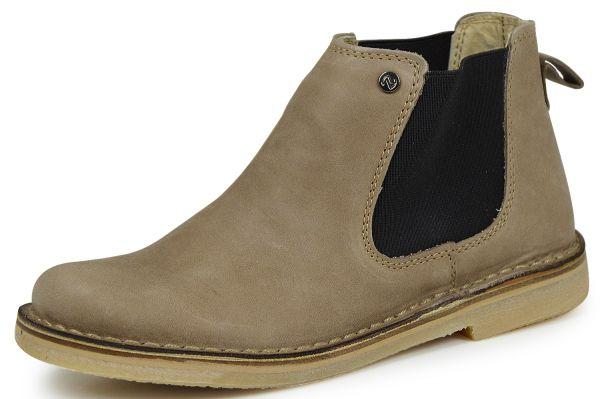 nagaba 1500085 Damen Combat Boots braun
