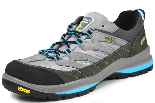 Grisport 12503S4G Herren Outdoor Sneaker Gritex Membran, grau / türkis