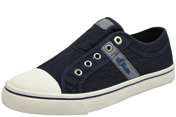 s.Oliver 5-24635-22 810 Damen Sneaker blau ( navy )