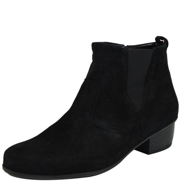 Waldläufer Haifi 967807 110 Damen Stiefeletten schwarz
