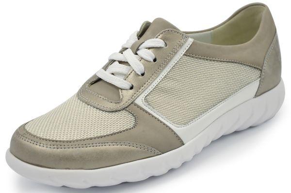 Waldläufer Kaleesi Damen Sneaker Weite K ,stein / silber / weiß