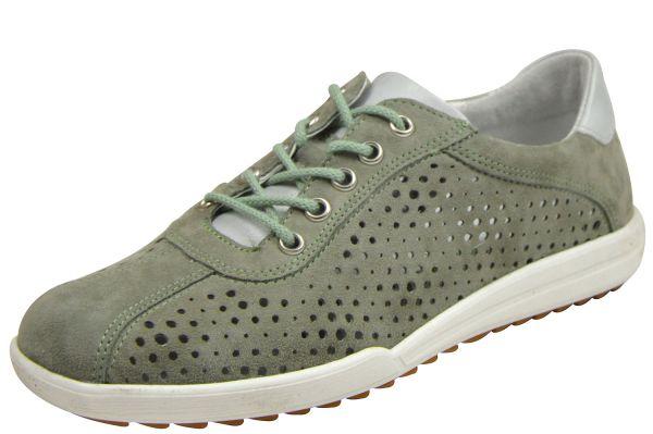 Josef Seibel Dany 49 Damen Sneaker sage / silber ( grün - grau )